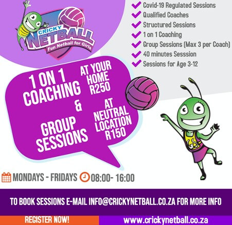 1 On 1 Coaching & Group Sessions_Cricky Netball