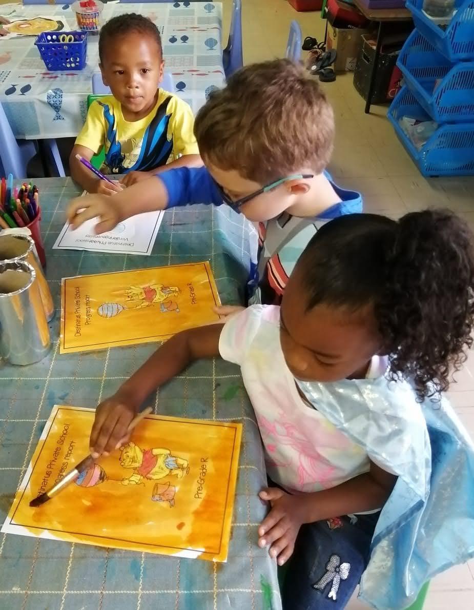 Destinatus Primary School Students Learning